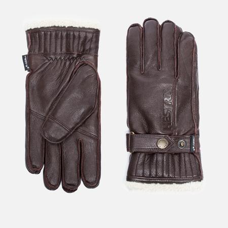 Мужские перчатки Hestra Orsa Dark Brown