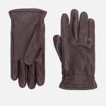 Мужские перчатки Hestra Sarna Dark Brown фото- 0