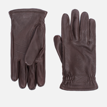 Мужские перчатки Hestra Sarna Dark Brown