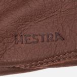 Мужские перчатки Hestra Sarna Dark Brown фото- 1