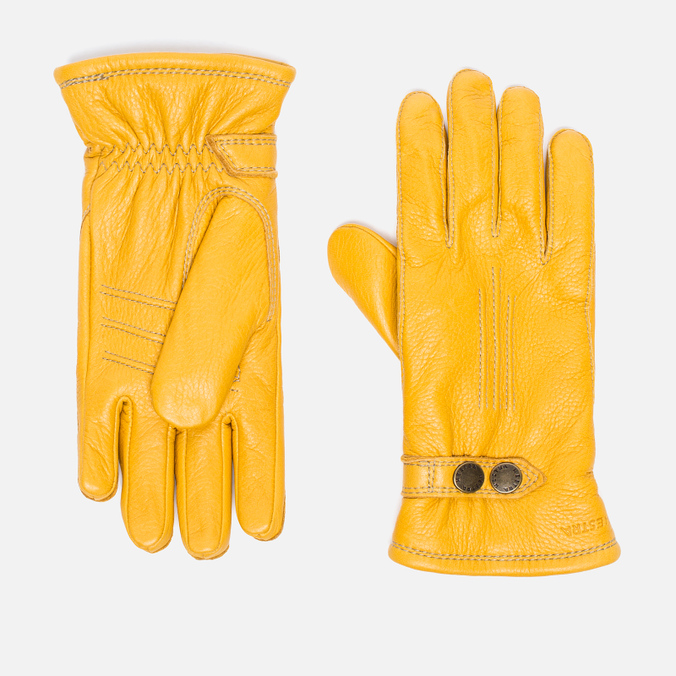 Мужские перчатки Hestra Tallberg Natural Yellow