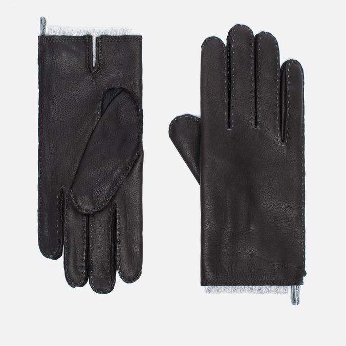 Мужские перчатки Hestra Tony Dark Brown