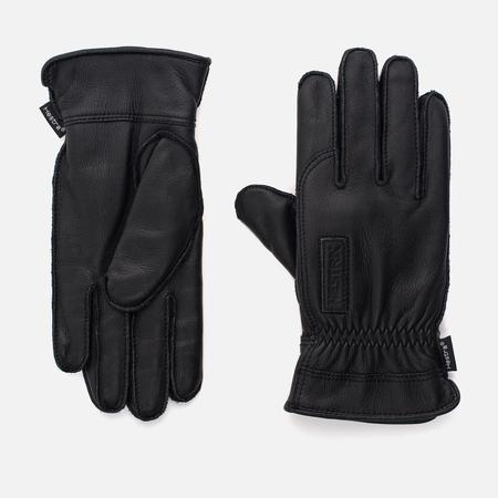Мужские перчатки Hestra Vackert Leather Black
