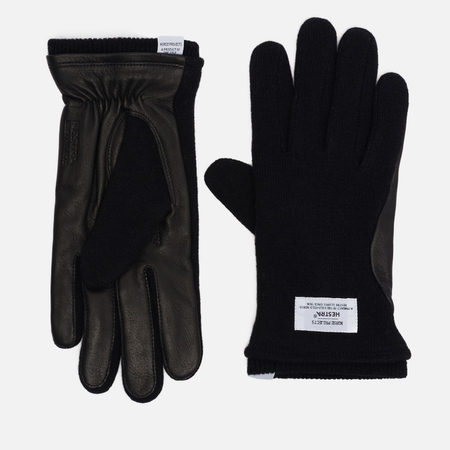 Мужские перчатки Norse Projects x Hestra Svante Black