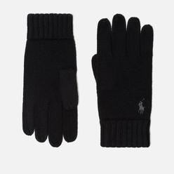 Перчатки Polo Ralph Lauren Merino Wool Black