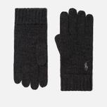 Перчатки Polo Ralph Lauren Merino Wool Dark Charcoal Heather фото- 0