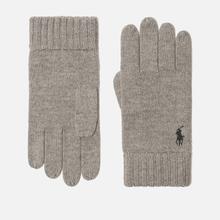 Перчатки Polo Ralph Lauren Merino Wool Fawn Charcoal Heather фото- 0