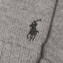 Перчатки Polo Ralph Lauren Merino Wool Fawn Charcoal Heather фото- 1