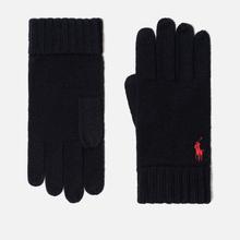Перчатки Polo Ralph Lauren Merino Wool Hunter Navy фото- 0