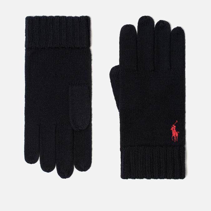 Перчатки Polo Ralph Lauren Merino Wool Hunter Navy