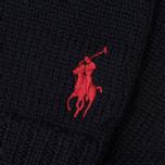 Перчатки Polo Ralph Lauren Merino Wool Hunter Navy фото- 1