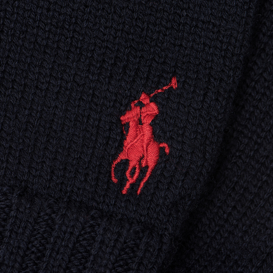 Перчатки Polo Ralph Lauren Merino Wool Hunter Navy