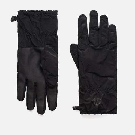 Мужские перчатки Stone Island Nylon Metal Black