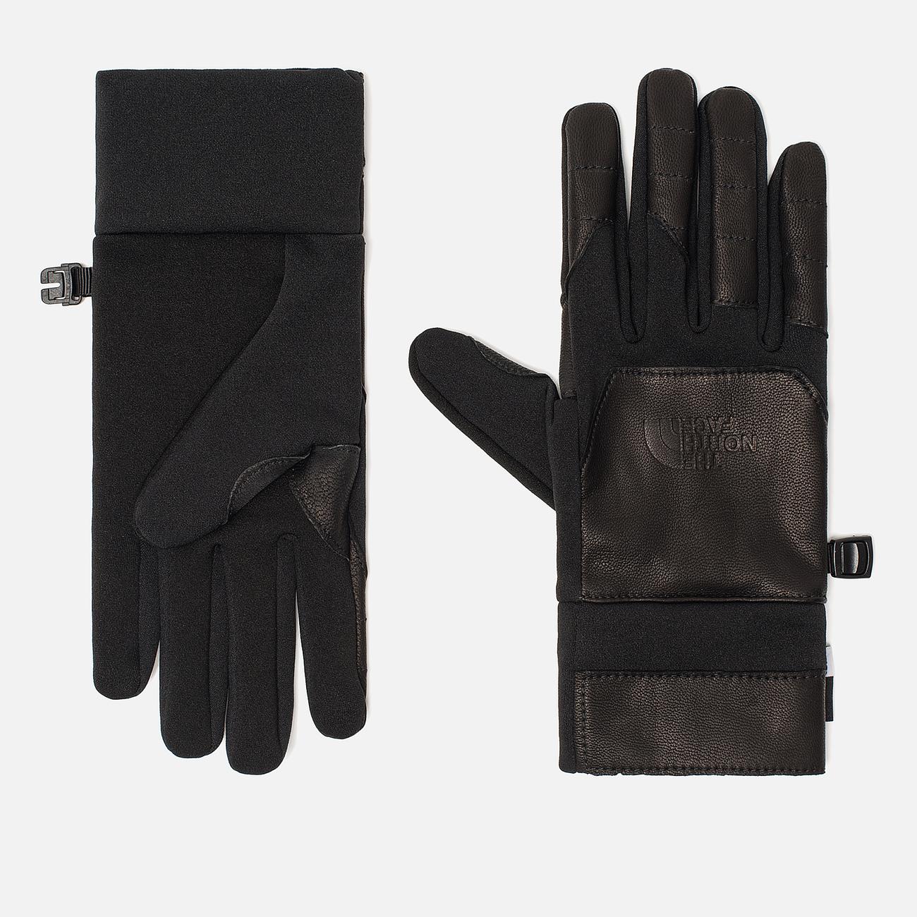 Перчатки The North Face Etip Leather TNF Black