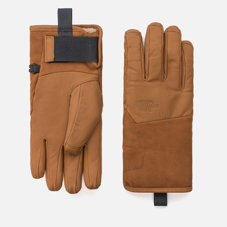 Мужские перчатки The North Face Leather IL Solo Timber Tan