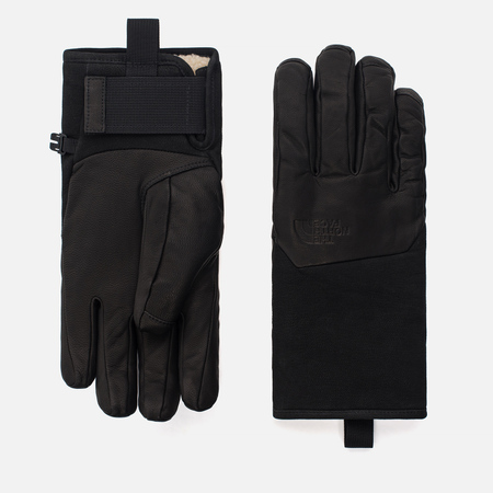 Мужские перчатки The North Face Leather IL Solo TNF Black