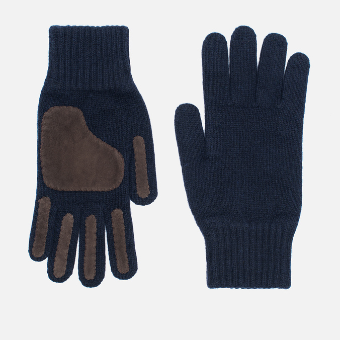 Мужские перчатки Universal Works Grip Knit Wool Navy