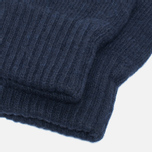 Мужские перчатки Universal Works Grip Knit Wool Navy фото- 2