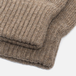 Universal Works Grip Knit Wool Men's Gloves Sand photo- 2