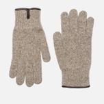 Мужские перчатки Universal Works Knitted Sand Melange фото- 0