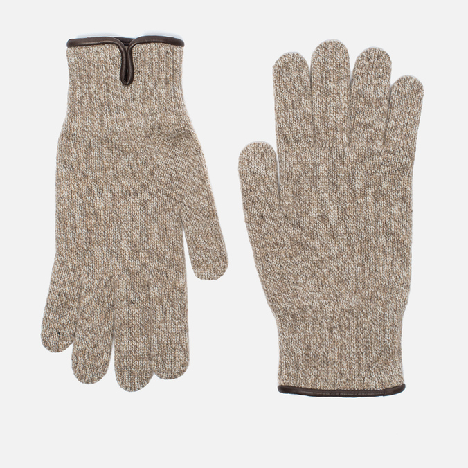Мужские перчатки Universal Works Knitted Sand Melange