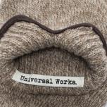 Мужские перчатки Universal Works Knitted Sand Melange фото- 2