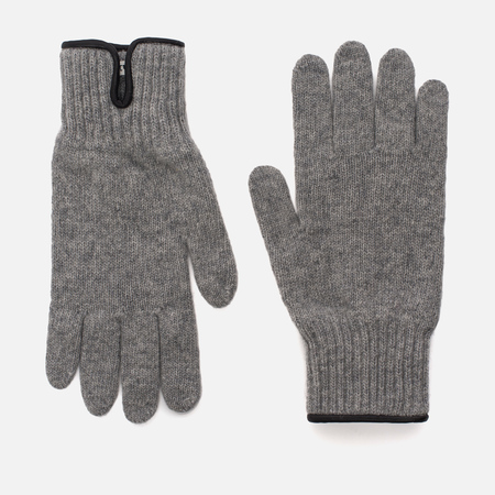 Мужские перчатки Universal Works Knitted Wool Light Grey