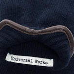 Мужские перчатки Universal Works Knitted Wool Navy фото- 2
