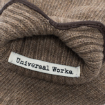 Universal Works Knitted Wool Men's Gloves Sand photo- 2
