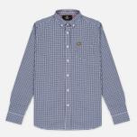 Мужская рубашка Lyle & Scott Gingham Navy фото- 0