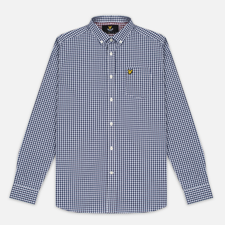 Lyle & Scott Gingham Men's Shirt Navy