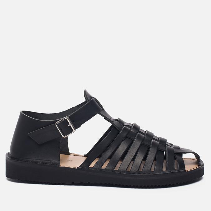 Мужские сандалии Fracap D025 Nebraska Black/Prunella Black