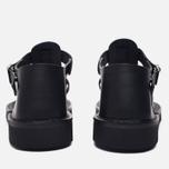 Мужские сандалии Fracap D025 Nebraska Black/Prunella Black фото- 3