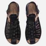 Мужские сандалии Fracap D025 Nebraska Black/Prunella Black фото- 4