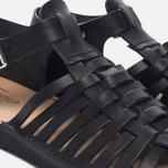 Мужские сандалии Fracap D025 Nebraska Black/Prunella Black фото- 5