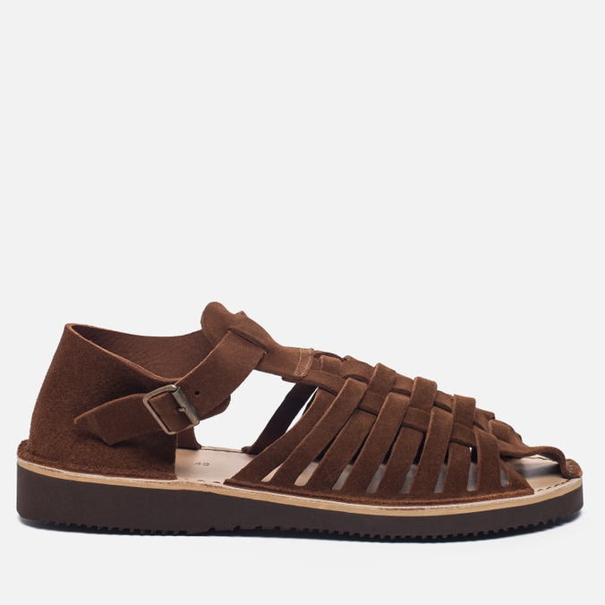 Мужские сандалии Fracap D025 Nebraska Brown/Prunella Brown