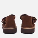 Мужские сандалии Fracap D025 Nebraska Brown/Prunella Brown фото- 3