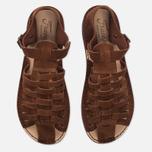Мужские сандалии Fracap D025 Nebraska Brown/Prunella Brown фото- 4