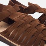 Мужские сандалии Fracap D025 Nebraska Brown/Prunella Brown фото- 5