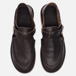 Мужские сандалии Fracap D151 Leather Nebraska Moro/Prunella Beige фото- 4