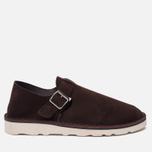 Мужские сандалии Fracap D152 Leather Suede Moro/Cristy White фото- 0
