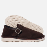 Мужские сандалии Fracap D152 Leather Suede Moro/Cristy White фото- 2