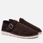Мужские сандалии Fracap D152 Leather Suede Moro/Cristy White фото- 1