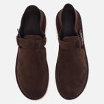 Мужские сандалии Fracap D152 Leather Suede Moro/Cristy White фото- 4
