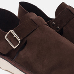 Мужские сандалии Fracap D152 Leather Suede Moro/Cristy White фото- 5