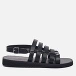 Мужские сандалии Fracap D179 Nebraska Black/Prunella Black фото- 0