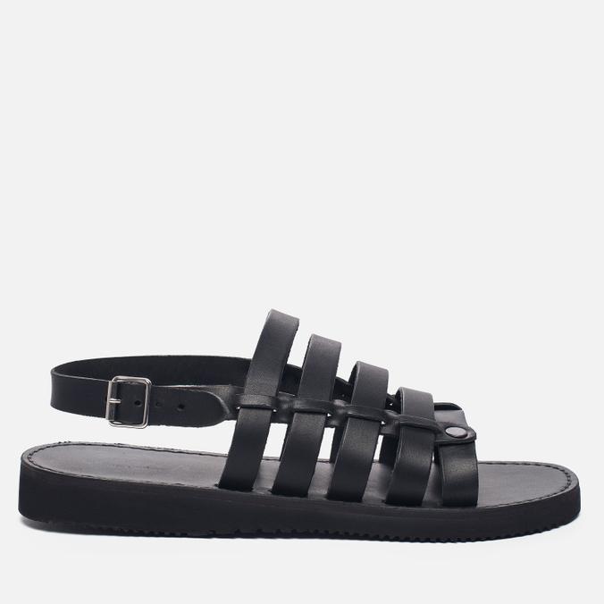 Мужские сандалии Fracap D179 Nebraska Black/Prunella Black