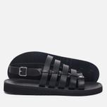 Мужские сандалии Fracap D179 Nebraska Black/Prunella Black фото- 1