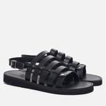 Мужские сандалии Fracap D179 Nebraska Black/Prunella Black фото- 2