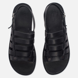 Мужские сандалии Fracap D179 Nebraska Black/Prunella Black фото- 4